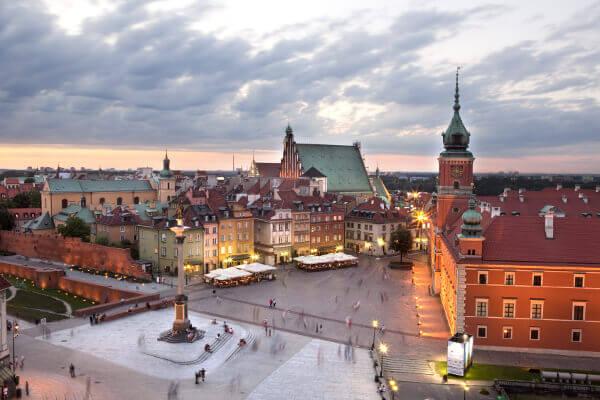 Werken in Polen